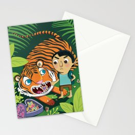 Cookie Tiger Stationery Cards