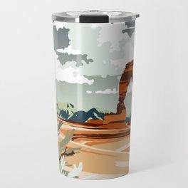 DELICATE ARCH MOAB UTAH Travel Mug
