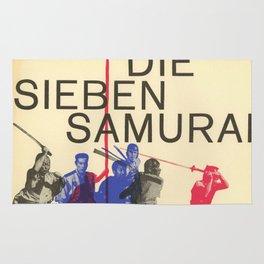 Die Sieben Samurai Rug
