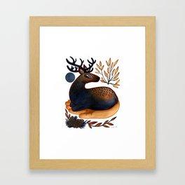 The Spirit of the Elk Framed Art Print