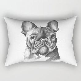 French Bulldog Drawing Rectangular Pillow