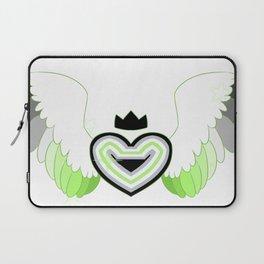 Agender Heart Laptop Sleeve