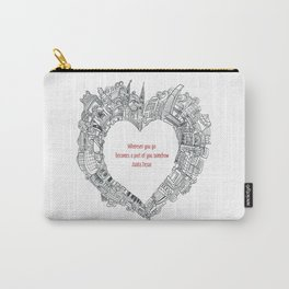 Wherever you go Carry-All Pouch