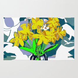 A  Daffodil Day        by Kay Lipton Rug