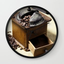 coffee grinder Wall Clock