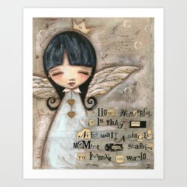 No Need To Wait - by Diane Duda Art Print
