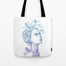 Shadows of My Soul (A Portrait of a Life's Lingering Past) Tote Bag
