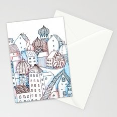 Smalltown Silence Stationery Cards