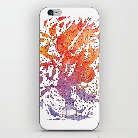 draw itself iPhone & iPod Skin
