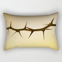 The Sharp Point of Winter Rectangular Pillow