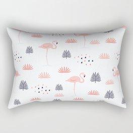 Minimal Flamingo Rectangular Pillow