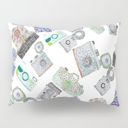Camera Pattern 2.3 Pillow Sham