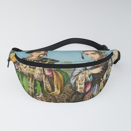 Chinese Costume 1856 Fanny Pack