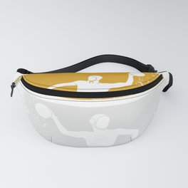 Water Polo Vintage Pool Ball Waterfootball Fanny Pack