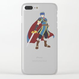 Marth(Smash) Clear iPhone Case