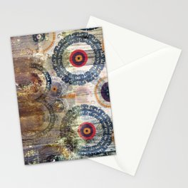 AMASONDO PATCHWORK PATTERN ART Stationery Cards