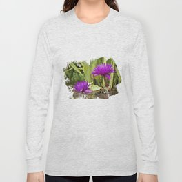 The lotus Long Sleeve T-shirt