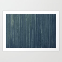 Deep Blue Boxcare Art Print