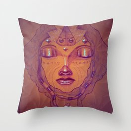 Daw Throw Pillow