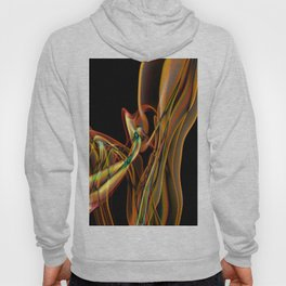 Recycled Smoke Abstract Design Hoody