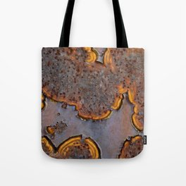 Rusted Islands Tote Bag