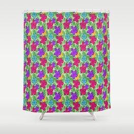 Effervescent Jungle Shower Curtain