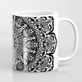 Lace Pattern Mandala Coffee Mug