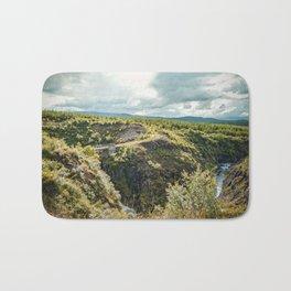 Rivers and Roads Bath Mat