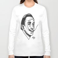 dali Long Sleeve T-shirts featuring Dali by @VEIGATATTOOER