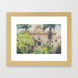 Balboa Park architecture ... Framed Art Print