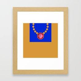 Simple Bling - Modern Bold Abstract Framed Art Print