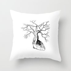 Love root Throw Pillow