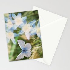 Butterfly :: Blue Sky Wings Stationery Cards