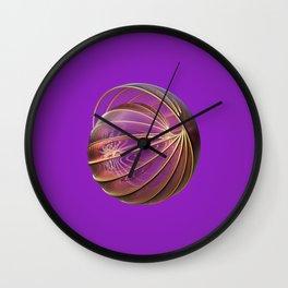 Shell Canopy Wall Clock