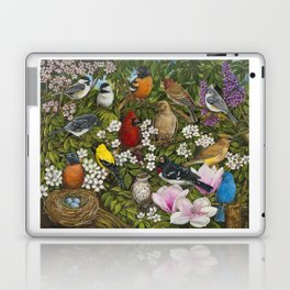 Garden Birds Laptop & iPad Skin