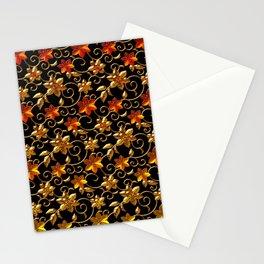 Metall Blumen Stationery Cards