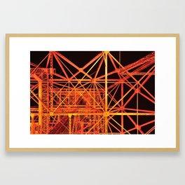 Tokyo Tower Details 1 Framed Art Print