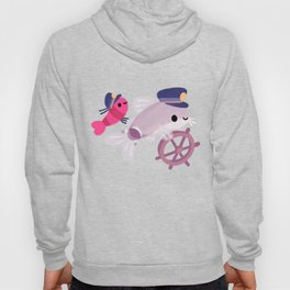 Cory cats on voyage Hoody