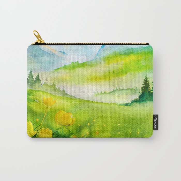 f881c8f20070 Spring scenery #5 Carry-All Pouch