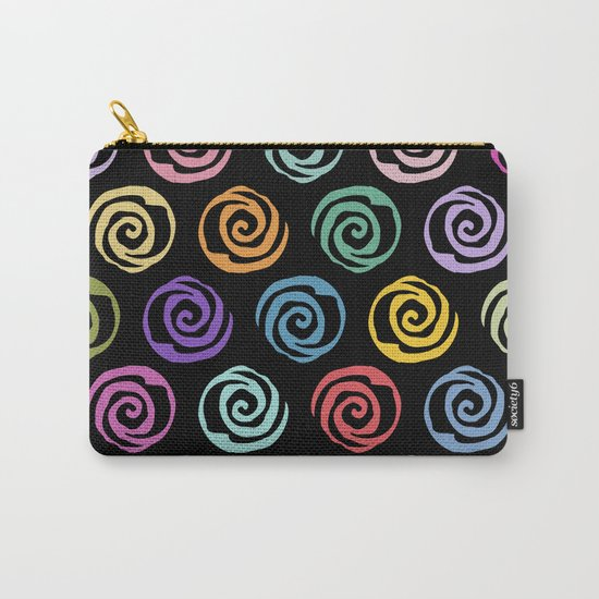 Circles Abstract Seamless Pattern 2 Carry-All Pouch