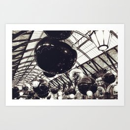 Baubles at Covent Garden Art Print
