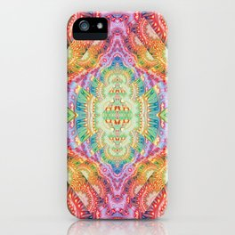 Psychedelic Journey GOA 1 iPhone Case