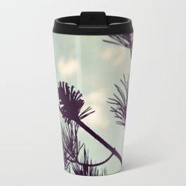 Pinecone Silhouette Travel Mug