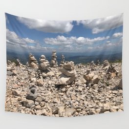 Stacked stones Wall Tapestry