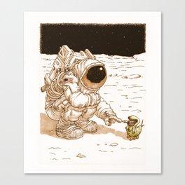 Boob thingy Canvas Print