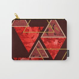 Red Fall #society6 #decor #buyart Carry-All Pouch