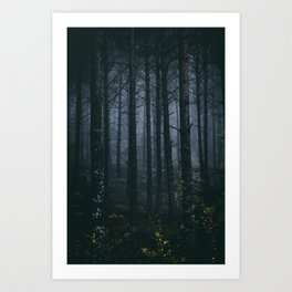Blind Ghosts Art Print
