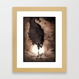 May the Dread Wolf take you Framed Art Print