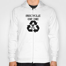 Recycle Black Hoody