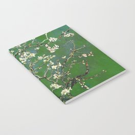 Almond Blossom - Vincent Van Gogh (avocado pastel) Notebook